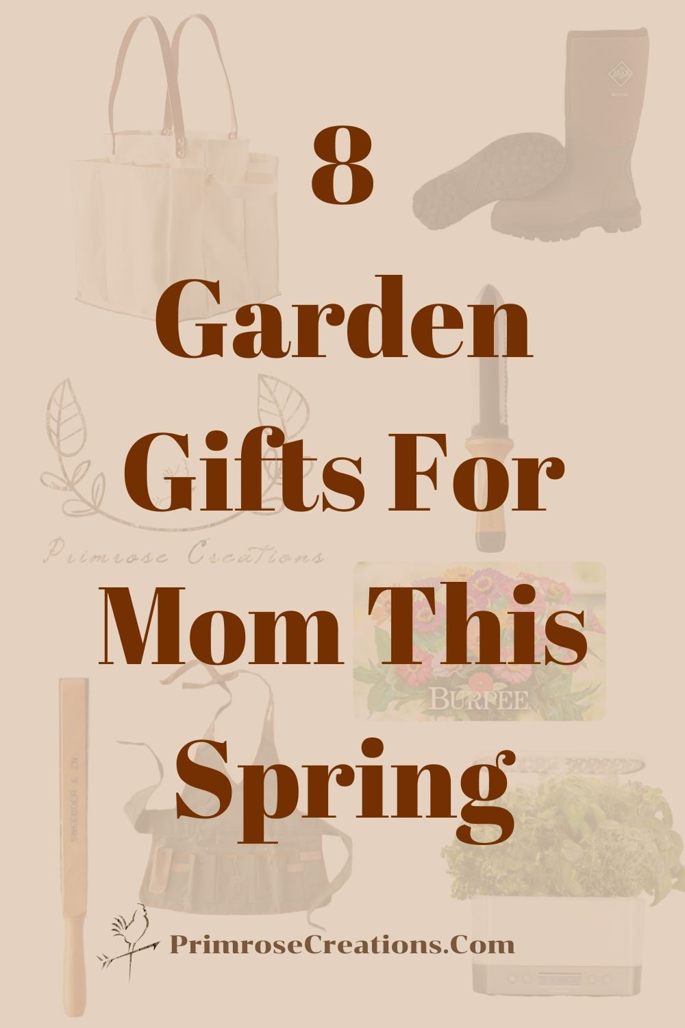 Giving gifts doesn't have to be limited to Mother's Day. From the great outdoors to the silence of self-care, we've got the ultimate list of them all! Here are our Top 8 Garden Gifts for mom this spring.