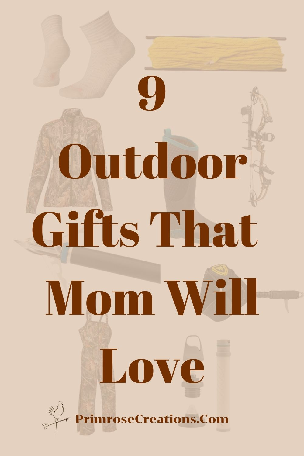 Giving gifts doesn't have to be limited to Mother's Day. From the great outdoors to the silence of self-care, we've got the ultimate list of them all! Here are our Top 9 Outdoor Gifts for mom this spring.