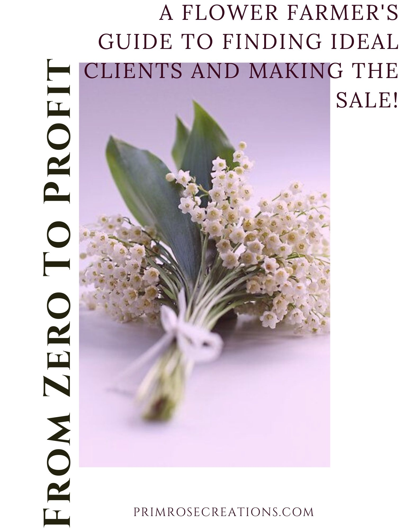A flower farmer (and other floral industry professionals!) guide to finding their ideal clients, making the pitch, and getting a sale. With this workbook, go from Zero to Profit in just 4 days!
