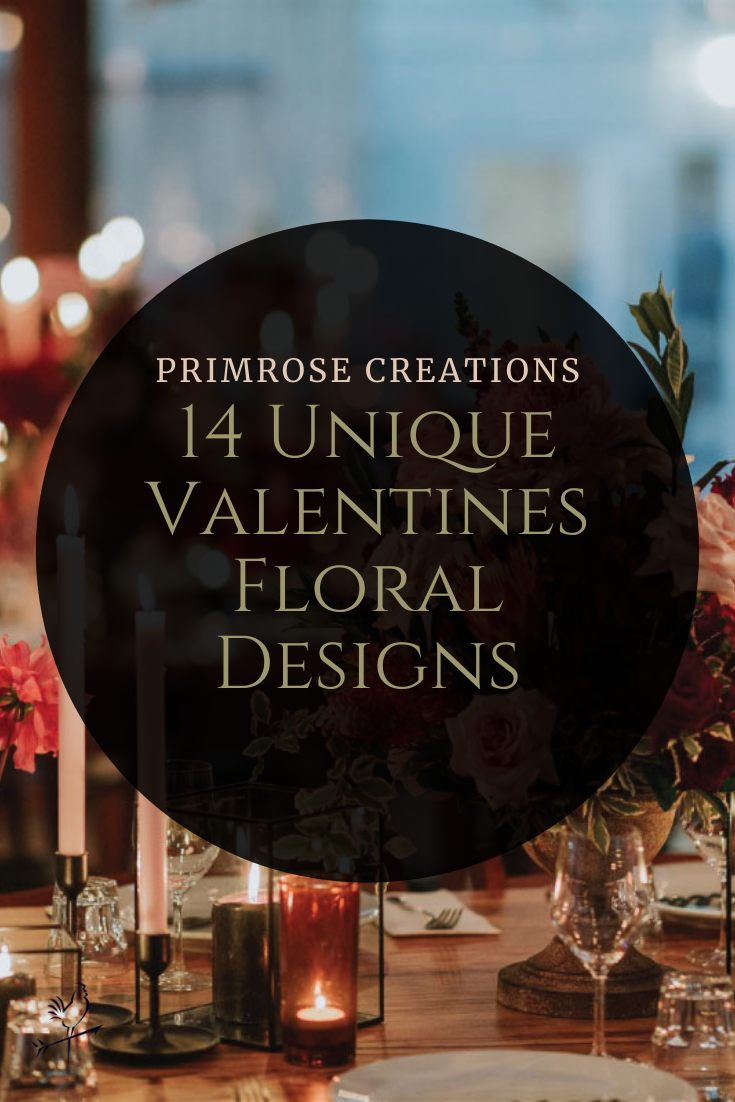 Inspire your Valentine's Day creations with these 14 unique Valentine's Day arrangements, complete with mood boards and floral ingredient lists.